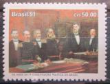 Poštovní známka Brazílie 1991 Umění, Aurélio de Figueiredo Mi# 2431