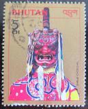 Poštovní známka Bhútán 1985 Taneční maska Mi# 924