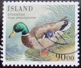 Poštovní známka Island 1987 Kachna Mi# 671