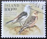 Poštovní známka Island 1989 Sněhule severní Mi# 698 Kat 4.50€