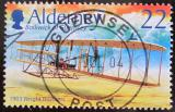 Poštovní známka Alderney 2003 Letadlo bratří Wrightů Mi# 206