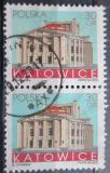 Poštovní známky Polsko 2005 Divadlo v Katovicích pár Mi# 4212