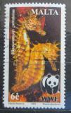 Poštovní známka Malta 2002 Mořský koník, WWF Mi# 1207