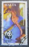 Poštovní známka Malta 2002 Mořský koník, WWF Mi# 1208