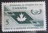 Poštovní známka Kanada 1965 OSN, 20. výročí Mi# 381