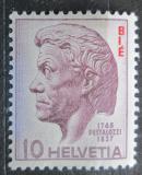 Poštovní známka Švýcarsko 1946 Vydání pro Vzdělávání, Pestalozzi Mi# 22