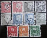 Poštovní známky Švédsko 1957 Gustaf VI Adolf