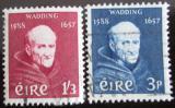 Poštovní známky Irsko 1957 Luke Wadding Mi# 134-35 Kat 10€