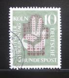 Poštovní známka Německo 1956 Setkání německých katoliků Mi# 239
