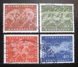 Poštovní známky Německo 1960 LOH Řím Mi# 332-35