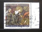 Poštovní známka Německo 1986 Vánoce Mi# 1303