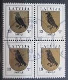 Poštovní známky Lotyšsko 2010 Znak Preili čtyřblok Mi# 422 C X