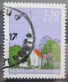 Poštovní známka Estonsko 2008 Kostel v Audru Mi# 624