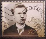 Poštovní známka Estonsko 2014 Johann Liiv, spisovatel Mi# 792