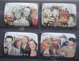 Poštovní známky Norsko 2010 Norská televize Mi# 1726-29