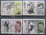 Poštovní známky Norsko 2010 Eurovize, populární hudba Mi# 1720-23