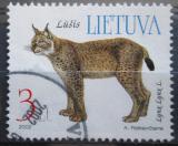 Poštovní známka Litva 2002 Rys ostrovid Mi# 791