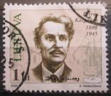 Poštovní známka Litva 2005 Petras Kalpokas, malíř Mi# 864