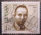 Poštovní známka Litva 2004 Kazimieras Buga Mi# 836