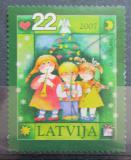 Poštovní známka Lotyšsko 2007 Vánoce Mi# 716
