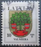 Poštovní známka Lotyšsko 2006 Znak Valmiera Mi# 463 D VI y