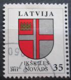 Poštovní známka Lotyšsko 2011 Znak Ikškiles Mi# 801