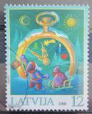 Poštovní známka Lotyšsko 2000 Vánoce Mi# 535