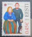 Poštovní známka Estonsko 2014 Lidové kroje Mi# 790