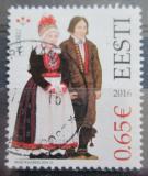 Poštovní známka Estonsko 2016 Lidové kroje Mi# 858