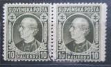 Poštovní známky Slovensko 1939 Andrej Hlinka pár Mi# 36