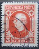 Poštovní známka Slovensko 1939 Andrej Hlinka Mi# 37