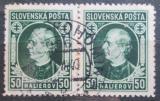 Poštovní známky Slovensko 1939 Andrej Hlinka pár Mi# 39