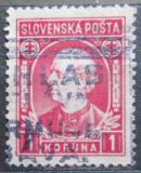 Poštovní známka Slovensko 1939 Andrej Hlinka Mi# 40