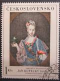 Poštovní známka Československo 1966 Umění, Jan Kupecký Mi# 1669