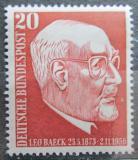 Poštovní známka Německo 1957 Rabí Leo Baeck Mi# 278