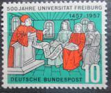 Poštovní známka Německo 1957 Univerzita ve Freiburgu, 500. výročí Mi# 256