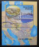 Poštovní známka Maďarsko 1985 Budapešť Mi# Block 176