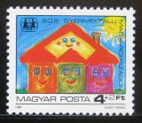 Poštovní známka Maďarsko 1985 Vesnička SOS Mi# 3797