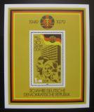 Poštovní známka DDR 1979 Vznik republiky, 30. výročí Mi# Block 56