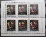 Poštovní známky Polsko 1977 Umění, Jacob Toorenvliet Mi# 2508 Bogen