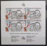Poštovní známky Československo 1987 Interkosmos Mi# Block 73