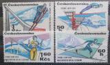 Poštovní známky Československo 1970 MS v lyžování Mi# 1916-19