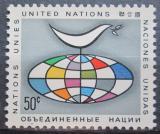 Poštovní známka OSN New York 1964 Holubice míru Mi# 106