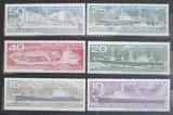 Poštovní známky DDR 1971 Stavba lodí Mi# 1693-98