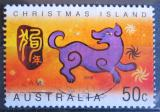 Poštovní známka Vánoční ostrov 2006 Rok psa Mi# 567