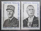 Poštovní známky Afars a Issas 1971 Charles de Gaulle Mi# 57-58 Kat 14€ TOP SET