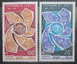 Poštovní známky Afars a Issas 1974 UPU, 100. výročí Mi# 106-07 Kat 6€ TOP SET