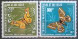 Poštovní známky Afars a Issas 1976 Můry Mi# 145-46 Kat 16€ TOP SET