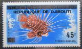 Poštovní známka Džibutsko 1977 Ryba přetisk Mi# 183 Kat 10€