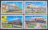 Poštovní známky Džibutsko 1979 Lokomotivy Mi# 237-40